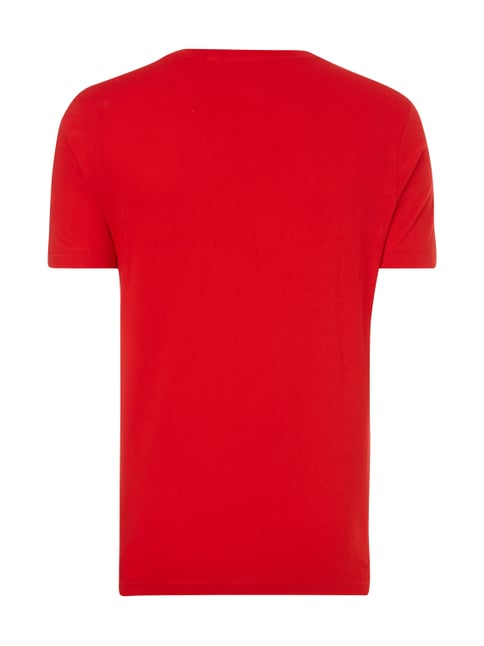 Lacoste T-Shirt aus Baumwolle Rot - 1