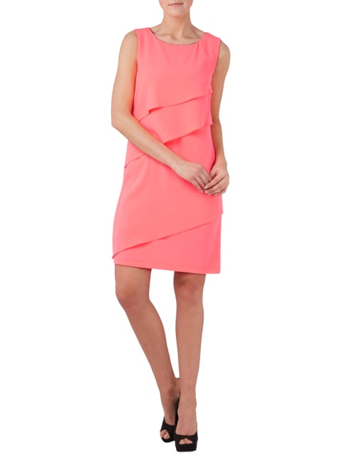 Laurel Kleid im Stufen-Look in Rosé - 1