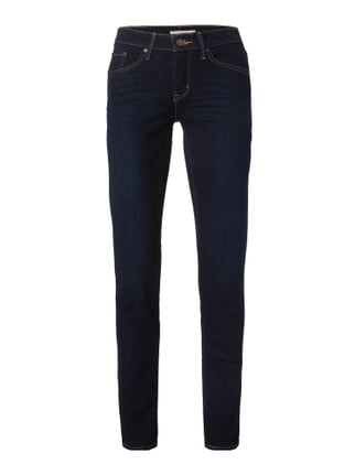 Rinsed Washed Shaping Fit Jeans Blau / Türkis - 1