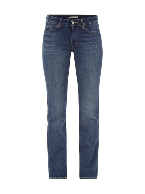 714 STRAIGHT Stone Washed Straight Fit Jeans Blau / Türkis - 1