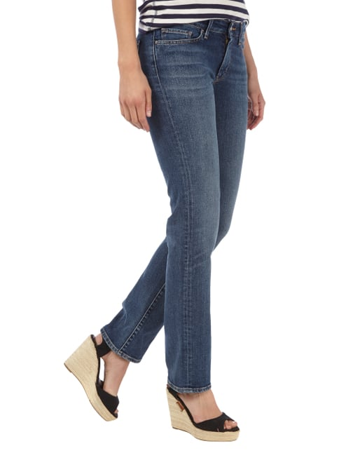 Levi's® 714 STRAIGHT Stone Washed Straight Fit Jeans Jeans meliert - 1
