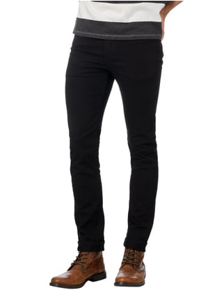 Levi's® Coloured Skinny Fit Jeans Schwarz - 1