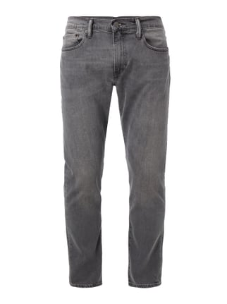 Coloured Slim Tapered Fit Jeans Grau / Schwarz - 1