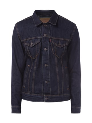 Jeansjacke im One Washed Look Blau / Türkis - 1