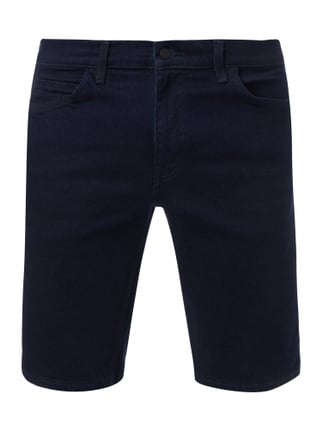 Rinsed Washed 5-Pocket-Jeansbermudas Blau / Türkis - 1