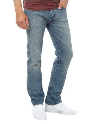 Levi's® Old Blue Washed Original Fit Jeans Blau - 1