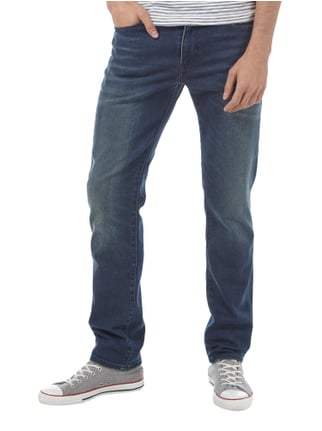 Levi's® Old Blue Washed Slim Fit Jeans Dunkelblau - 1
