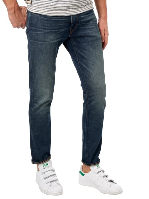Levi's® Old Blue Washed Slim Tapered Fit Jeans Blau - 1