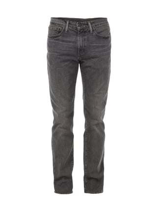 Regular Fit Stone Washed Jeans Grau / Schwarz - 1