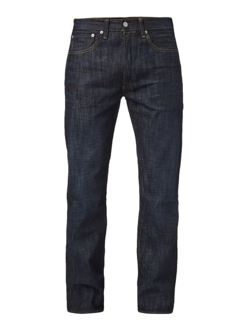 Rinsed Washed Original Fit 5-Pocket-Jeans Blau / Türkis - 1