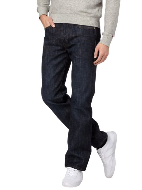 Levi's® Rinsed Washed Original Fit 5-Pocket-Jeans Dunkelblau - 1