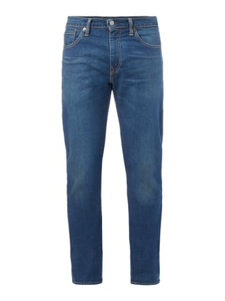 Rinsed Washed Slim Fit 5-Pocket-Jeans Blau / Türkis - 1
