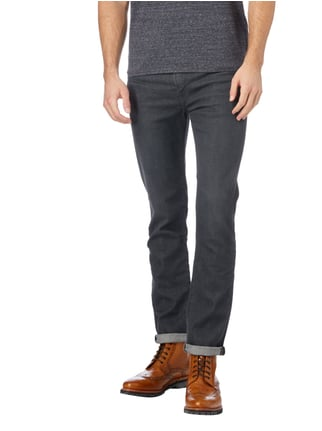 Levi's® Rinsed Washed Slim Fit Jeans mit Stretch-Anteil Graphit - 1