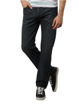 Levi's® Stone Washed Original Fit Jeans Dunkelblau - 1