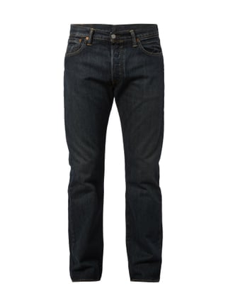 Stone Washed Original Fit Jeans Blau / Türkis - 1