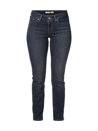 Straight Fit Old Blue Washed Jeans Blau / Türkis - 1