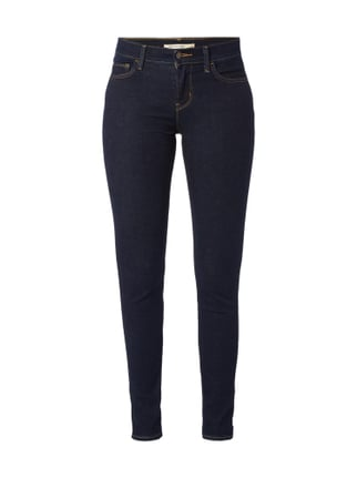One Washed Super Skinny Fit Jeans Blau / Türkis - 1