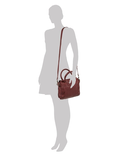 Liebeskind Berlin Crossbody Bag aus echtem Leder in Rot - 1