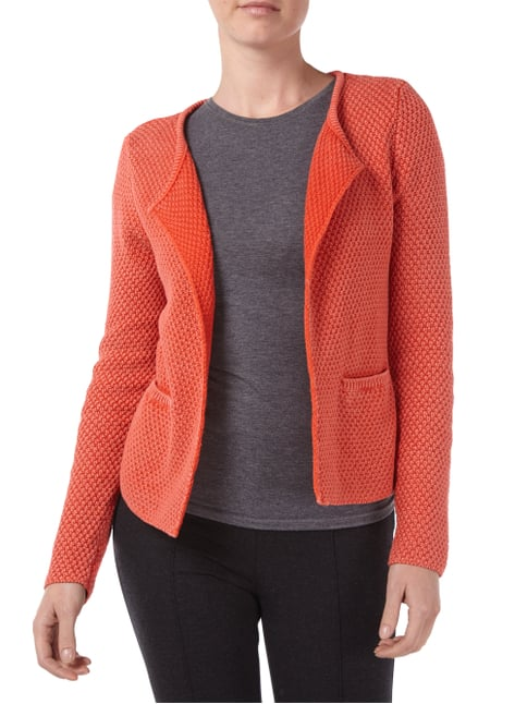 Lieblingsstück Cardigan im Washed Out Look Orange - 1