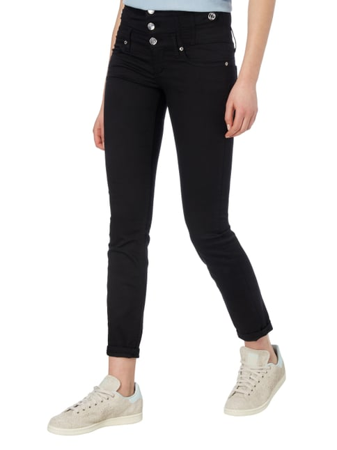 Liu Jo Jeans Coloured Skinny Fit Jeans Schwarz - 1