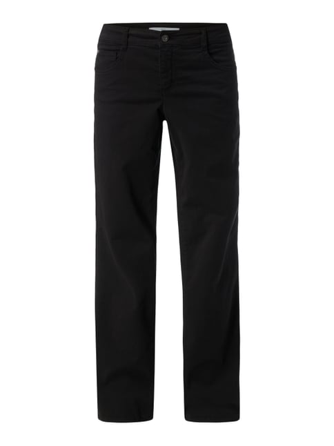 Coloured 5-Pocket-Jeans Grau / Schwarz - 1
