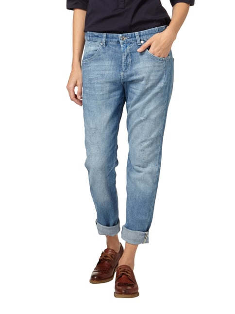 MAC Loose Fit Jeans im Destroyed Look Jeans meliert - 1
