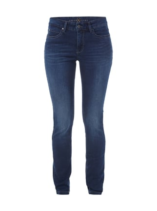 Skinny Fit 5-Pocket-Jeans im Stone Washed Look Blau / Türkis - 1