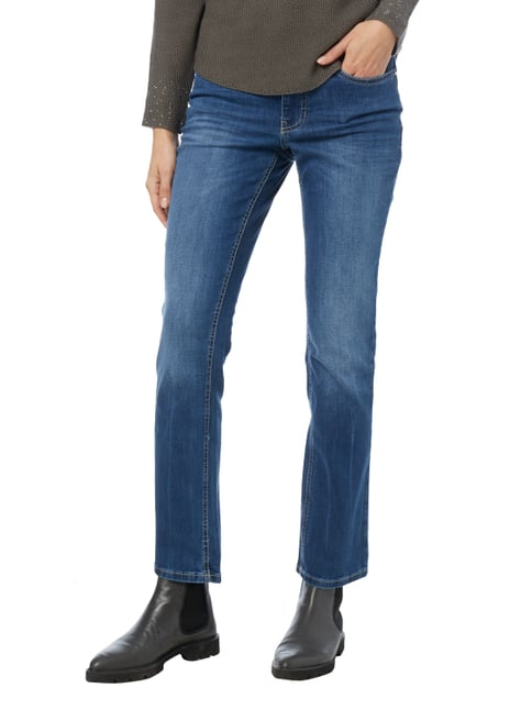 MAC Stone Washed Feminine Fit 5-Pocket-Jeans Jeans meliert - 1