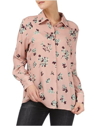 Marc Cain Collections Bluse mit floralem Muster Altrosa - 1