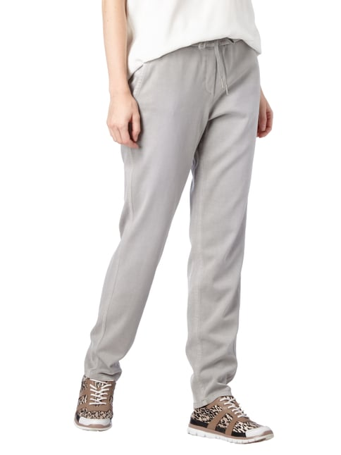 Marc Cain Additions Jogpants im Washed Out Look Stein - 1
