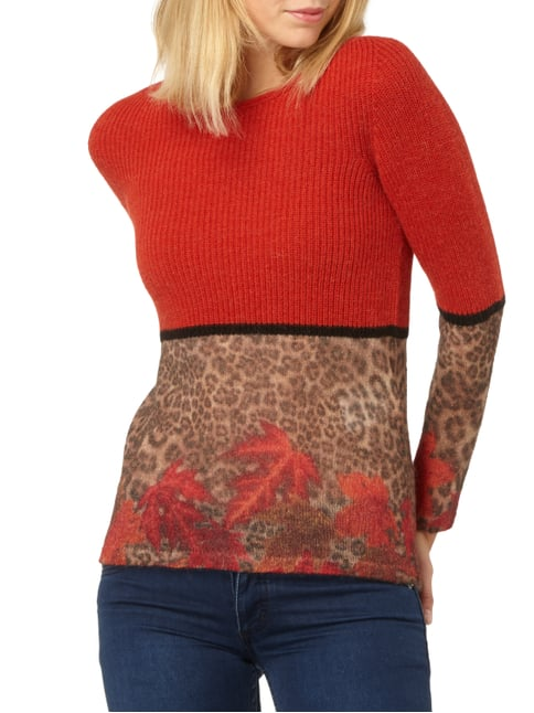 Marc Cain Collections Pullover mit Mohair-Anteil Rot - 1