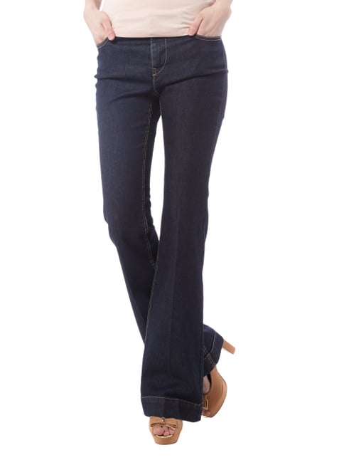 Marc Cain Collections Rinsed Washed Flared Cut Jeans Jeans - 1