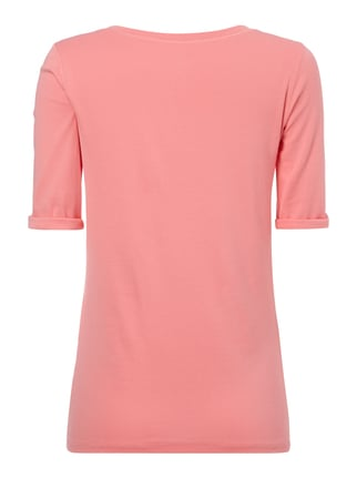 Marc Cain Collections Shirt aus Baumwoll-Elasthan-Mix Pink - 1