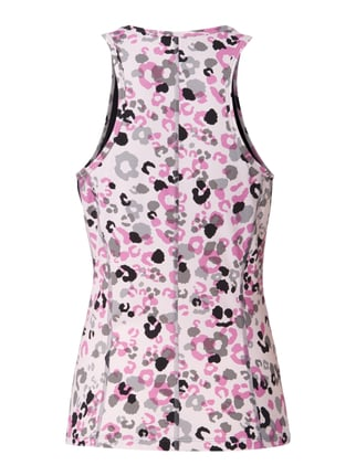 Marc Cain Additions Tanktop mit Leopardenmuster Rosa - 1