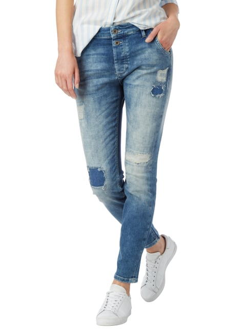 Marc O'Polo Boyfriend Fit Jeans im Destroyed Look Jeans - 1