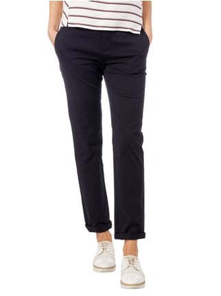 Marc O'Polo Chino mit Stretch-Anteil Marineblau - 1