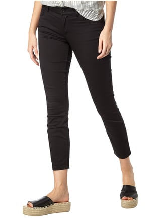 Marc O'Polo Cropped 5-Pocket-Hose mit Stretch-Anteil Schwarz - 1