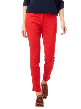 Marc O'Polo Hose mit Stretch-Anteil Rot - 1