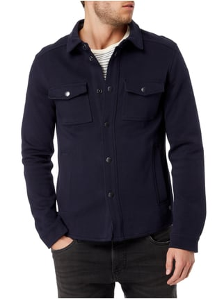 Marc O'Polo Jacke aus Sweat Marineblau - 1