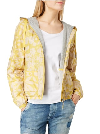 Marc O'Polo Jacke mit floralem Allover-Muster Senfgelb - 1