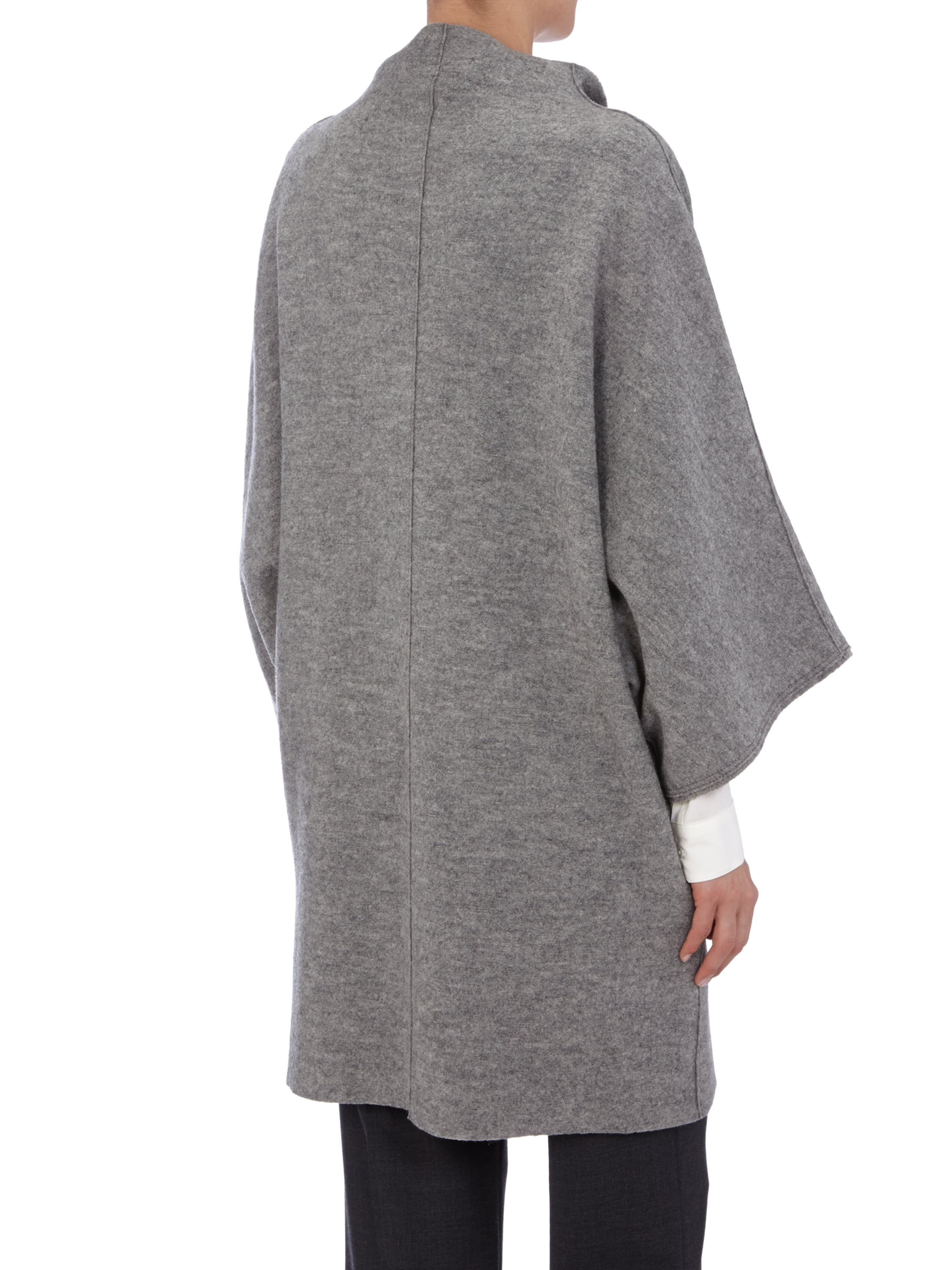 Oversize mantel aus reiner wolle fashion id online shop for Oversize mantel damen