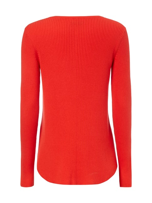 Marc O'Polo Pullover mit Kaschmir-Anteil Rot - 1