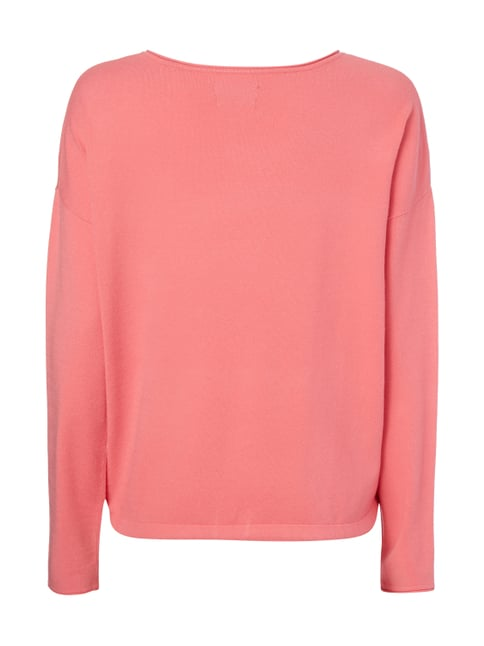 Marc O'Polo Pullover mit Tunnelzug am Saum Pink - 1