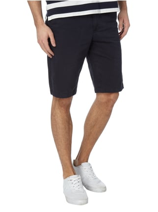 Marc O'Polo Regular Fit Chinobermudas aus Baumwolle Marineblau - 1