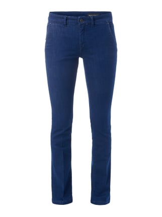 Rinsed Washed Boot Cut Jeans Blau / Türkis - 1