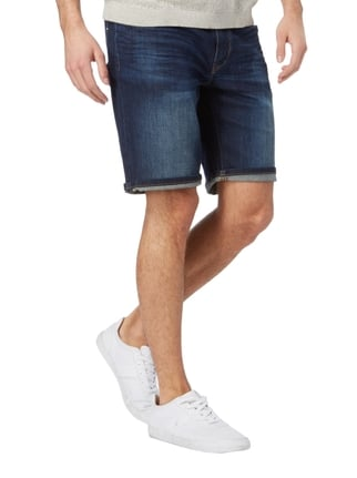 Marc O'Polo Stone Washed Jeansbermudas Blau - 1