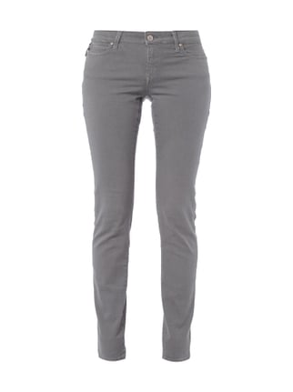 Slim Skinny Jeans aus Coloured Denim Grün - 1