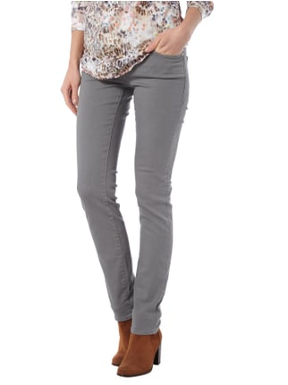Mavi Uptown Slim Skinny Jeans aus Coloured Denim Schilf - 1