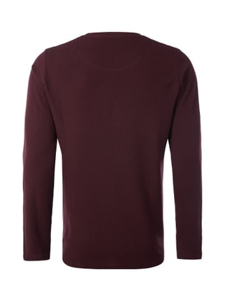 MCNEAL Serafino-Shirt im 2-in-1-Look Bordeaux Rot - 1