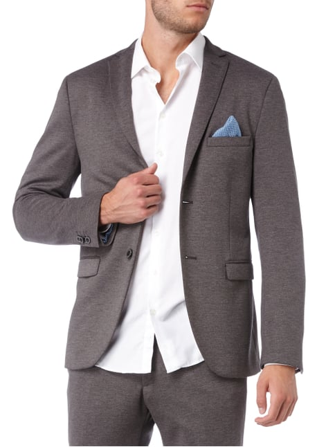 MCNEAL Super Slim Fit Jerseysakko - meliert Anthrazit meliert - 1